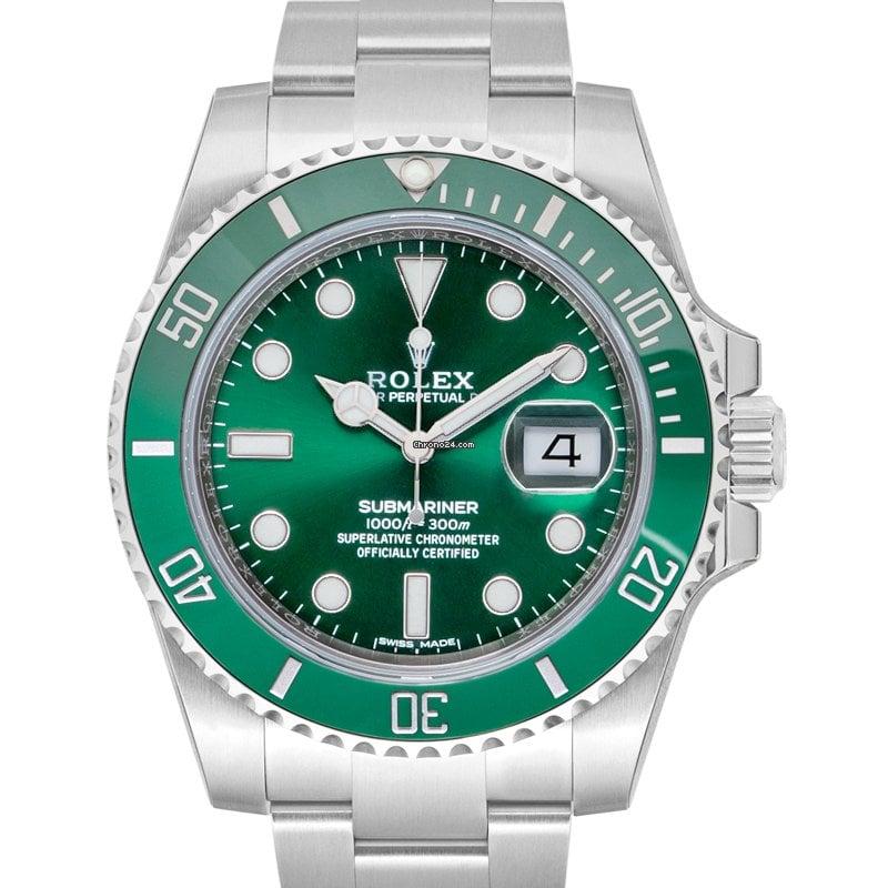 Rolex Submariner Date 116610LV Hulk 2019 ny