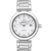 Omega De Ville Ladymatic Staal 34mm Wit