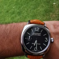 Panerai Radiomir Black Seal Acier 45mm Noir Arabes France, Léon