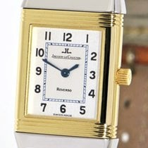 Jaeger-LeCoultre 260.5.08 Gold/Steel 1998 Reverso Lady 20mm pre-owned
