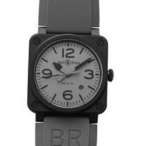 Bell & Ross BR 03-92 Ceramic BR0392-COMMANDO-CE Új Kerámia 42mm Automata