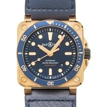 Bell & Ross Bronze Automatic Blue 42mm new BR 03
