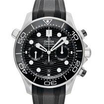 Omega Seamaster Diver 300 M Acero 44mm Negro