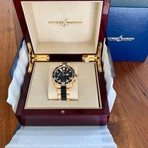 Ulysse Nardin Maxi Marine Diver neu 2015 Automatik Chronograph Uhr mit Original-Box und Original-Papieren 8006-102-3A/92