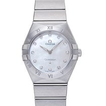 Omega 131.10.28.60.55.001 Сталь 2020 Constellation Quartz 28mm новые