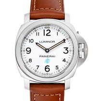 Panerai Luminor Base Logo Steel 44mm White