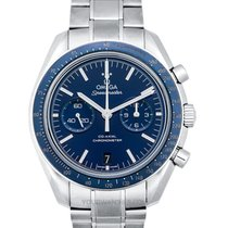 Omega Titanium Automatic Blue 44.25mm new Speedmaster Professional Moonwatch