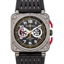 Bell & Ross BR 03-94 Chronographe nuevo 2020 Automático Reloj con estuche y documentos originales BR0394-RS18