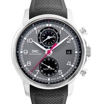 IWC Portuguese Yacht Club Chronograph nuevo Automático Reloj con estuche y documentos originales iw390503