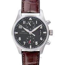 IWC Pilot Spitfire Chronograph Cерый