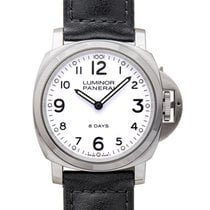 Panerai Luminor Base 8 Days Steel 44mm White