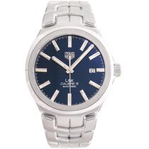 TAG Heuer Link Calibre 5 Steel 41mm Blue