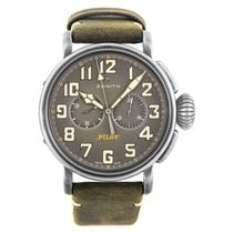 Zenith Pilot Type 20 Steel 45mm Grey