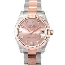 Rolex 178271 G Oro rosa Lady-Datejust 31mm nuevo