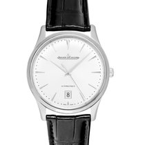 Jaeger-LeCoultre Master Ultra Thin Date Stahl 39mm Silber