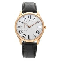 Zenith Rose gold Automatic White Roman numerals 40mm new Elite Ultra Thin