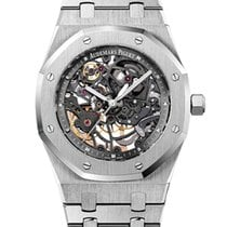 Audemars Piguet Royal Oak Selfwinding Steel 39mm Transparent No numerals United States of America, New York, New York