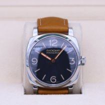 Panerai Radiomir 1940 pre-owned 47mm Black Leather