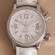 Jaeger-LeCoultre Master Compressor Lady Automatic pre-owned 37mm White Date Leather