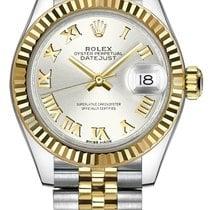 勞力士 Lady-Datejust 新的 自動發條 附正版包裝盒的手錶 279173-SLVRJ