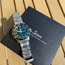 Sinn 104 Steel 41mm Green Arabic numerals
