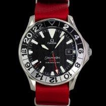 Omega Seamaster Diver 300 M rabljen 41mm Crn GMT