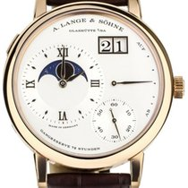A. Lange & Söhne Rose gold Manual winding White 41mm pre-owned Grand Lange 1