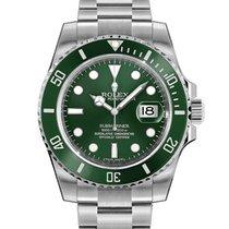 Rolex Submariner Date Steel 40mm Green No numerals South Africa, Johannesburg