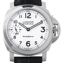 Panerai Luminor Marina Acero 44mm Blanco Arábigos