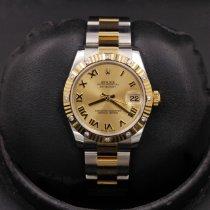 Rolex Lady-Datejust Gold/Steel 31mm Champagne Roman numerals United States of America, California, Huntington Beach