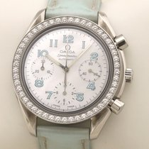 Omega Speedmaster Ladies Chronograph Acier 38,5mm Nacre Arabes