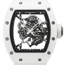 Richard Mille Ceramic Automatic Transparent 50mm pre-owned RM 055