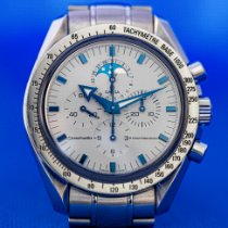 Omega Speedmaster Professional Moonwatch Moonphase Acero 42mm Blanco Sin cifras