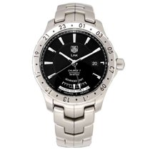 TAG Heuer Link Calibre 7 Steel 40mm Black United States of America, Texas, Plano