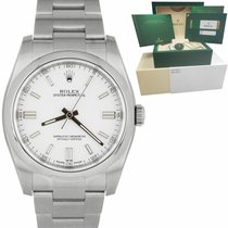 Rolex Oyster Perpetual 36 Steel 36mm White United States of America, New York, Massapequa Park