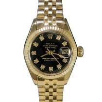 Rolex 6917 Or jaune 1974 Lady-Datejust 26mm occasion
