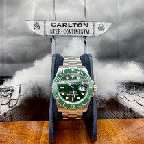 Rolex Submariner Date Acier 40mm Vert Sans chiffres France, Paris