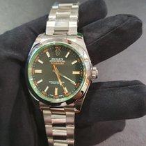 Rolex Milgauss Steel 40mm Black No numerals United Kingdom, London