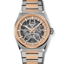 Zenith Rose gold Automatic Transparent 41mm new Defy