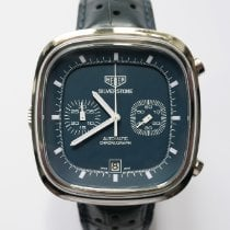 TAG Heuer Silverstone Staal 42mm Blauw Geen cijfers
