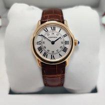 Cartier Ronde Solo de Cartier Or rose 29.5mm Argent Romains