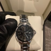 TAG Heuer Formula 1 Lady pre-owned 34mm Black Date Fold clasp