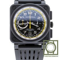 Bell & Ross BR 03-94 Chronographe Céramique 42mm Noir Arabes