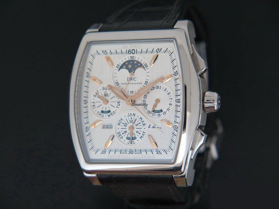 IWC Da Vinci Perpetual Calendar IW376204 2012 pre-owned