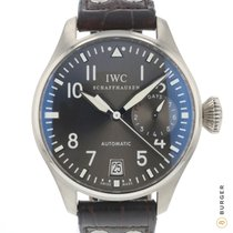 IWC White gold Automatic Grey Arabic numerals 46.2mm pre-owned Big Pilot
