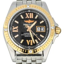 Breitling Galactic 41 Gold/Steel 41mm Black United States of America, Illinois, BUFFALO GROVE