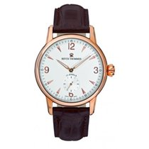 Revue Thommen Rose gold Manual winding Silver new