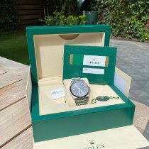 Rolex Oyster Perpetual 39 Staal 39mm Grijs Geen cijfers Nederland, AMSTERDAM