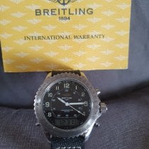 Breitling Steel Quartz A51035 pre-owned