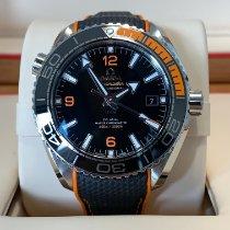 Omega Seamaster Planet Ocean Stahl 43.5mm Schwarz Arabisch